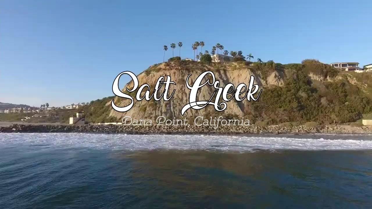 Salt Creek Beach Drone Footage Dana Point Ca