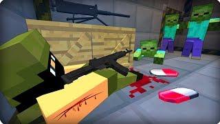 💣Нашёл выжившего военного [ЧАСТЬ 43] Зомби апокалипсис в майнкрафт! - (Minecraft - Сериал)