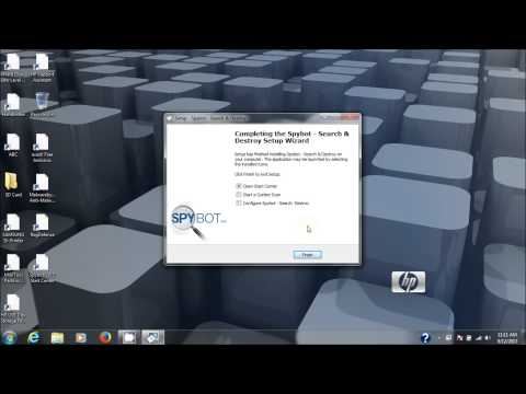 Spybot Search & Destroy Anti-Spyware Removal Software Install And Use Tutorial