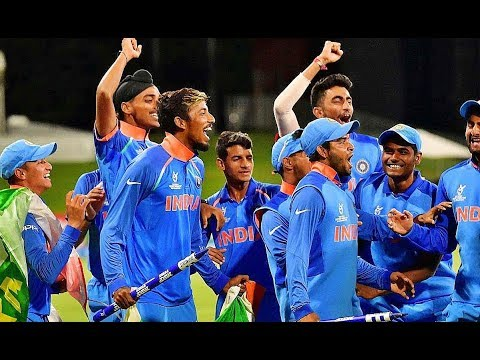 Under 19 World Cup Final India Celebration After Winning