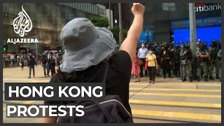 More than 300 Hong Kong protesters arrested