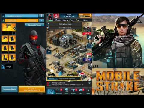 Mobile Strike -Episode 33- HQ Level 23. Sorry! Been Out!