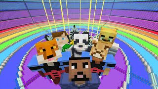 Minecraft Xbox - The Ultimate Rainbow - Hide and Seek