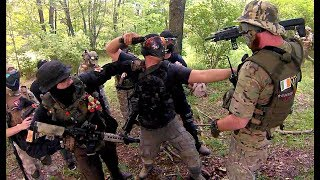 Airsoft EVIKE Miguel SCREAMS and POINTS BLANK PLAYERS!