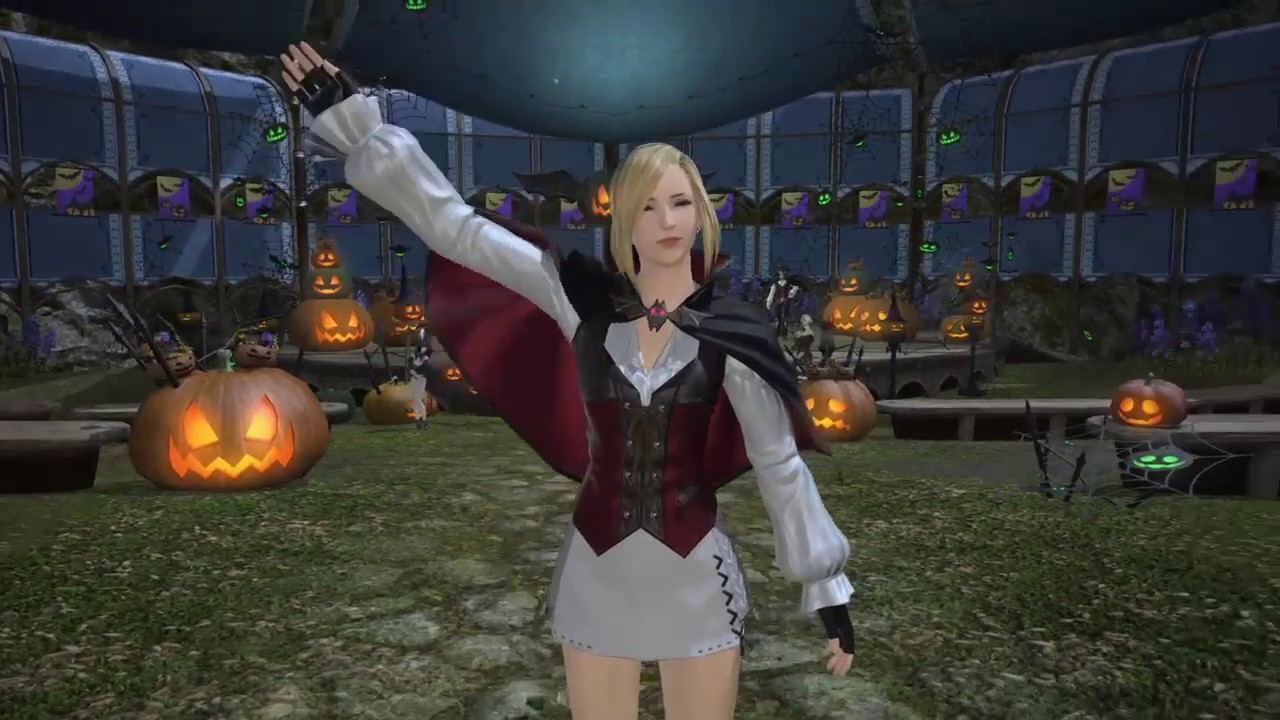 Final Fantasy XIV: All Saints' Wake 2017 Halloween Event - YouTube