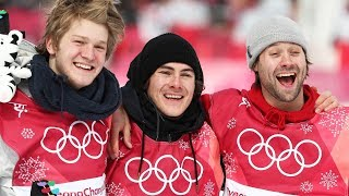Highlights of the Men's Snowboard Big Air Final | Pyeongchang 2018