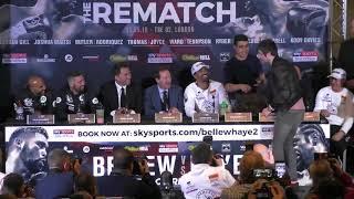 Jay from Inbetweeners interrupts Bellew vs Haye 2 final presser