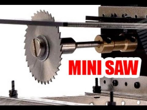 Homemade Mini Table Saw - Diy Dremel Saw- Testere