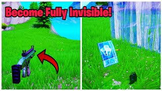 How to become fully Invisible in Fortnite (New) Fortnite glitches season 8 PS4/Xbox