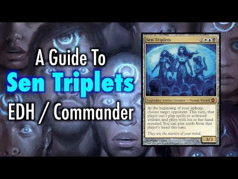 MTG - A Guide To Sen Triplets EDH / Commander for Magic: The Gathering