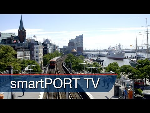 The most beautiful metro route Germany | Premium overlooking the Port of Hamburg