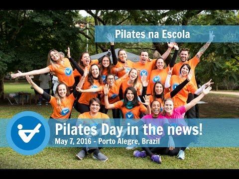 Pilates Day 2016 in the news - Porto Alegre, Brazil