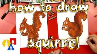 How To Draw A Squirrel + SYA