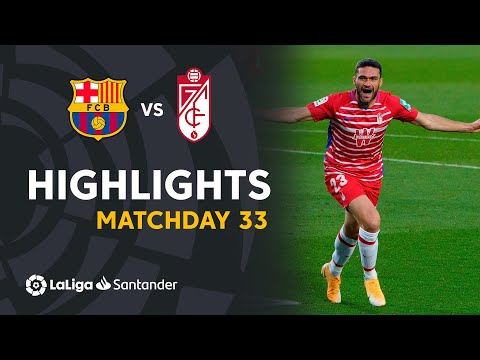 Barcelona Granada Goals And Highlights