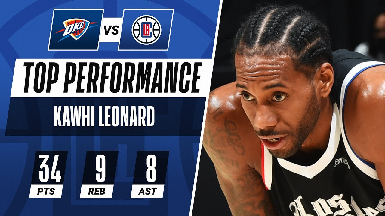 Kawhi Leonard once again 'leading the way' for LA Clippers, who ...