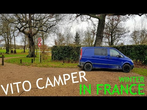 Vito Camper Van Christmas in France  / The Carpenter's Daughter