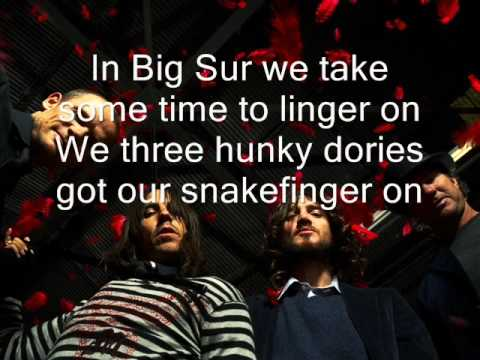 Red Hot Chili Peppers - Road Trippin lyrics