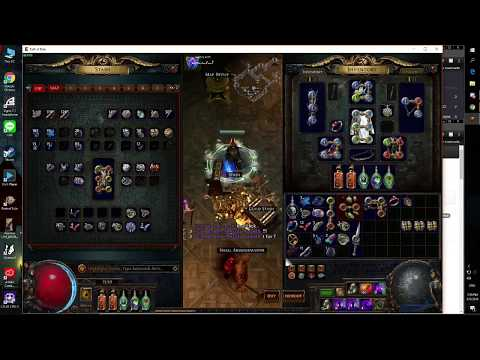 [POE 3.2] Six link First Touch 1Fus !! Path Of Exile