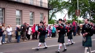 1,000 Pipers Pipe Band Parade The Kilt Run Perth Scotland Saturday June 2nd 2012