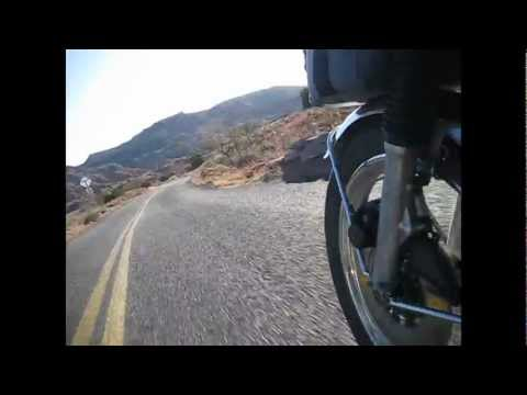 Motorcycle Ride Across the USA - Pavement View