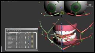 bone based facial rig