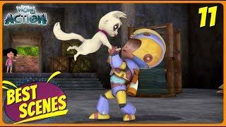 BEST SCENES of VIR THE ROBOT BOY | New Episode | Animated Series For Kids | #11 | WowKidz Action