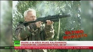 Fallece Mijaíl Kaláshnikov, el padre del legendario fusil de asalto AK-47