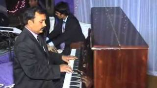 jab koi bat bigar hindi song on piano