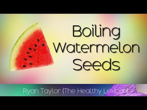 Boiling Watermelon Seeds