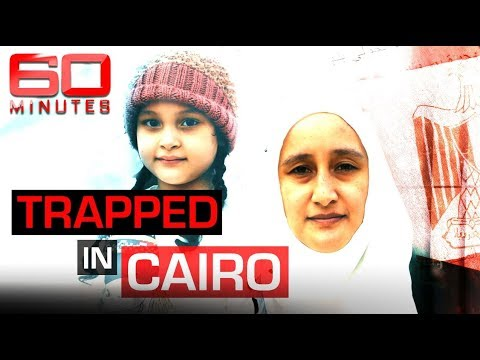 Mother and daughter escape Egypt after being trapped for three years | 60 Minutes Australia