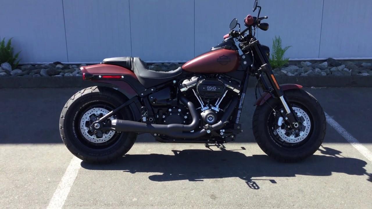2018 Harley-Davidson FXFBS Fat Bob 114 - YouTube