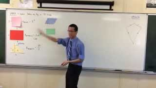 Areas of Plane Shapes (2 of 3: Triangles & Parallelograms)