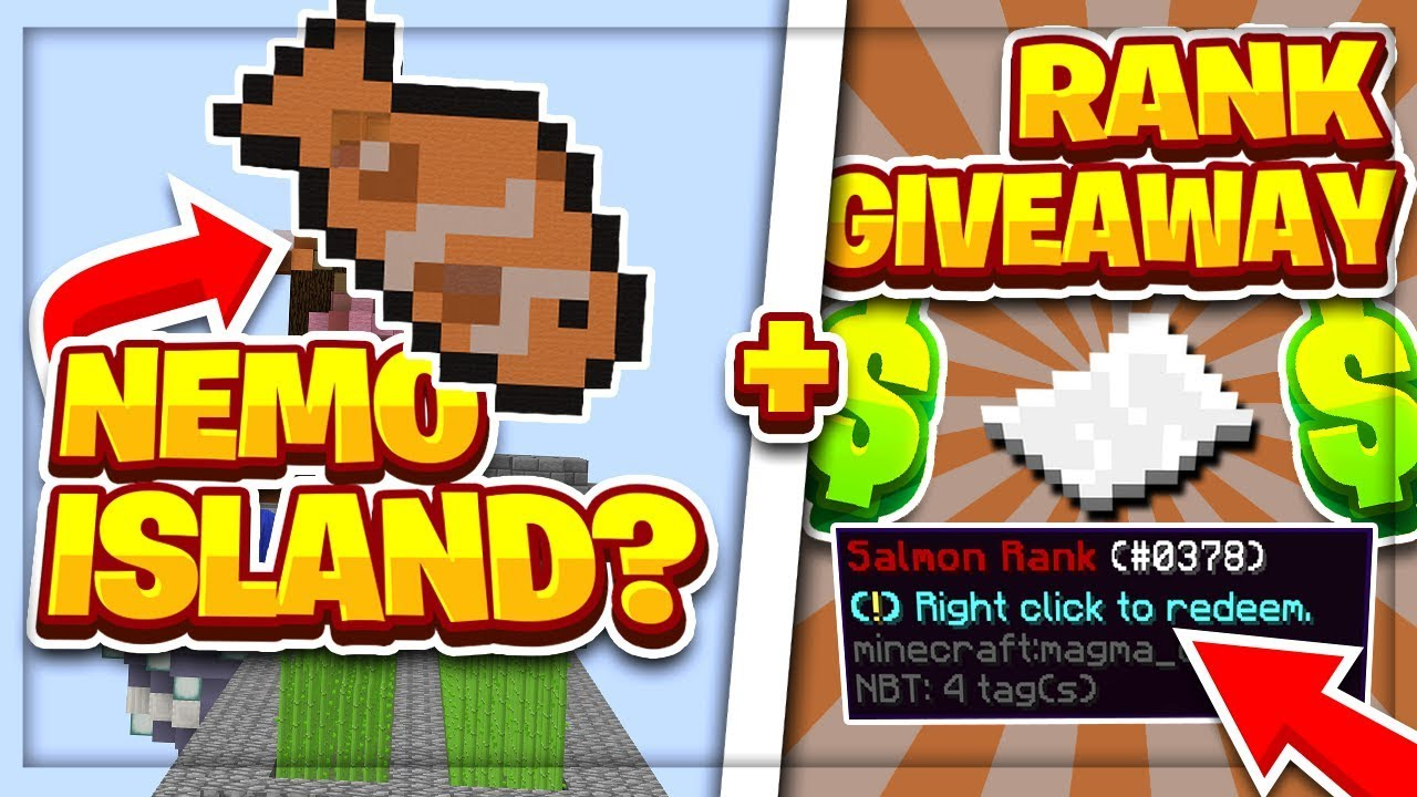CREATING THE BEST ISLAND + RANK GIVEAWAY | Minecraft Skyblock | ReefCraft |  [1]
