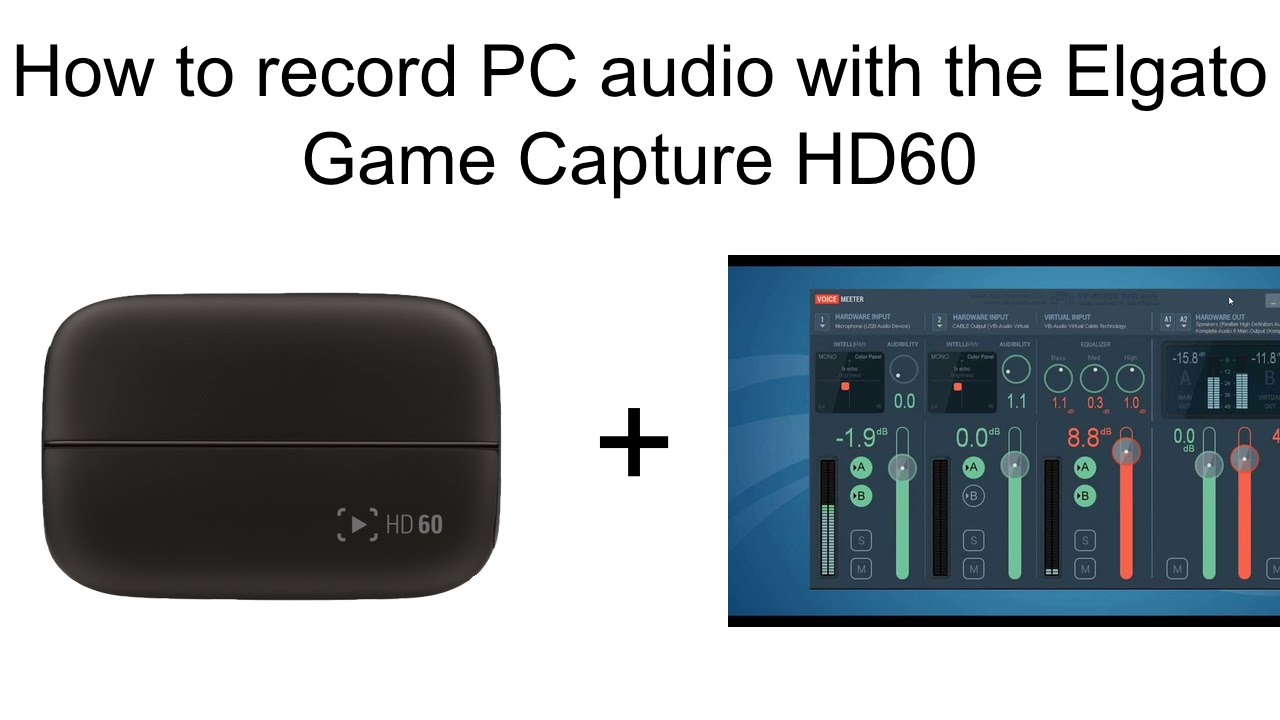 how to record game audio with elgato hd60 | Gameswalls org