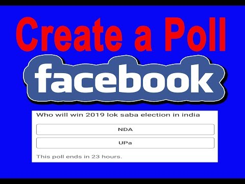create facebook poll mobile - Myhiton