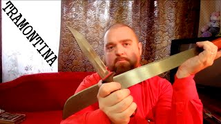 TRAMONTINA - обзор НЕкухонных ножей