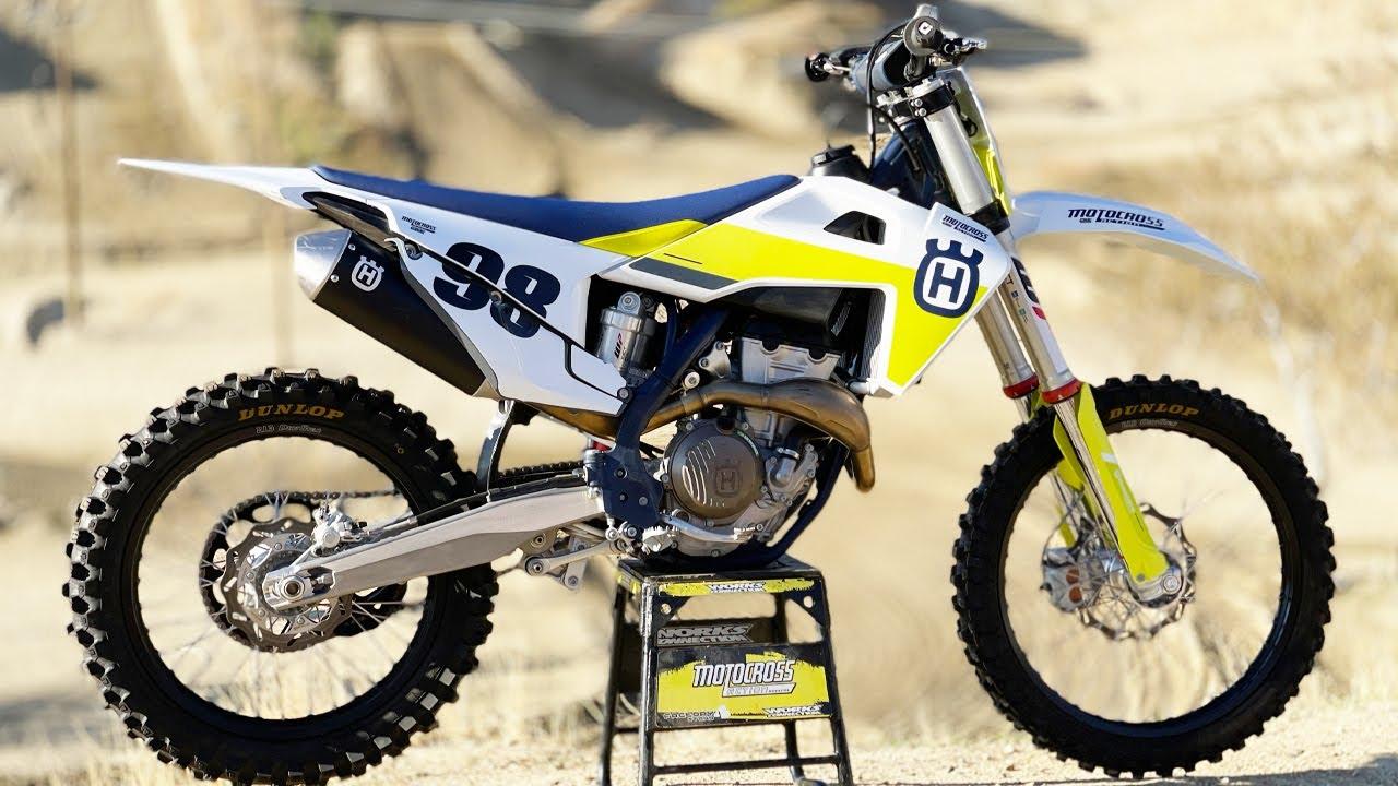 The Vet Racer Weapon of Choice? Husqvarna FC350