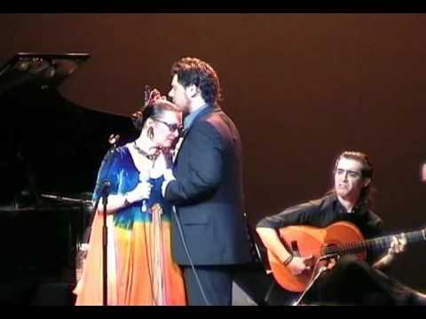 """Miguel Poveda & Martirio """"Te he de querer mientras viva"""" -""""Romance de valentía"""" - 08.07.2005"""