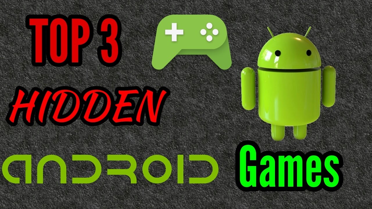 Top 3 Hidden Android Games - (2017) - English