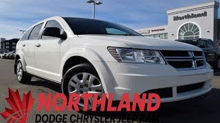 Walk Around 2017 Dodge Journey SE | Northland Dodge | Auto Dealership in Prince George BC