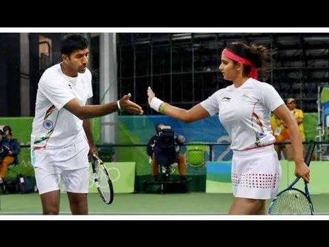 Sania Mirza-Rohan Bopanna pair enter Semifinals in Rio Olympics  - Dinamalar Aug 13th 2016