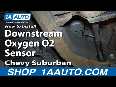 How To Install Replace Downstream Oxygen O2 Sensor 2000-06 Chevy Suburban