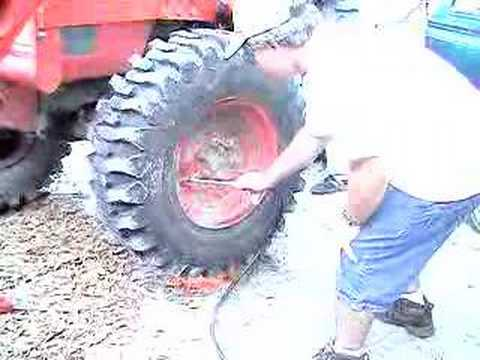 tractor tire repair bead fire