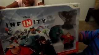 Disney Infinity Wii Starter Pack Unboxing