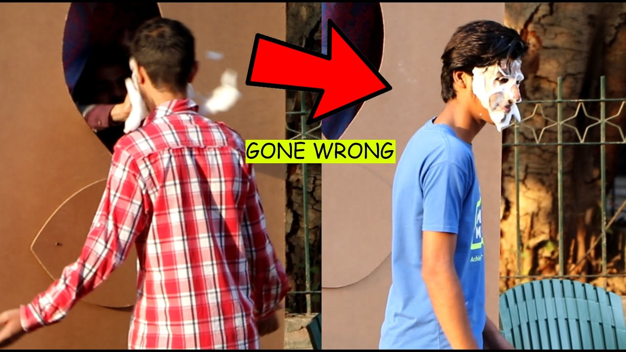 Don't Look Inside The Hole Prank   Pranks in Pakistan   LahoriFied