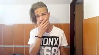 Man undercut hair topknot tutorial HD/NemesCZ