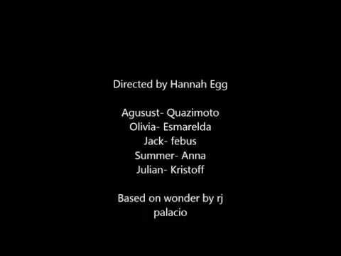Wonder - By Hannah Egg streaming vf