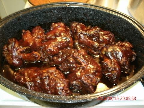 Oven-Barbequed Pig Feet