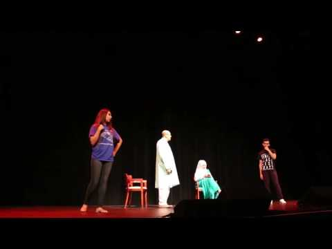 Password - Comedy Short Theater Play 6 minutes (Independence Day)