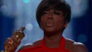 Oscars 2017 Winner Viola Davis Gives Powerful Speech After Winning Best Supporting Actress